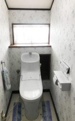 【LIXIL】トイレリフォーム施工事例【リビングプラザ滝の神】鹿児島市・リフォーム・塗装・外構・造園