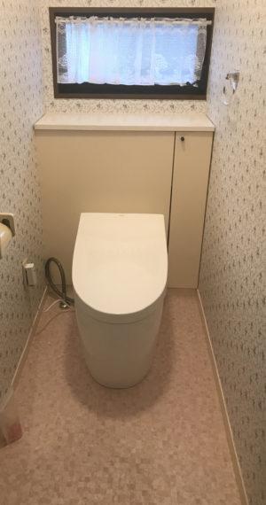 鹿児島市 H様邸 トイレ改修工事 【リビングプラザ滝の神】鹿児島市・リフォーム・塗装・外構・造園