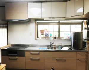 鹿児島市 G様邸 システムキッチン施工事例 【リビングプラザ滝の神】鹿児島市・リフォーム・塗装・外構・造園