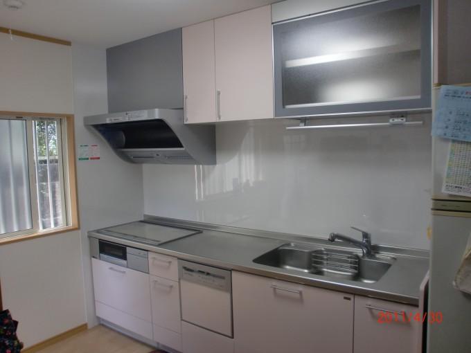 キッチン施工T邸1