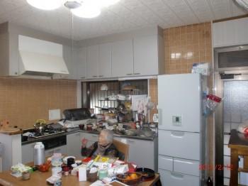 キッチン施工H邸