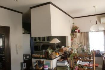 キッチン施工K邸1