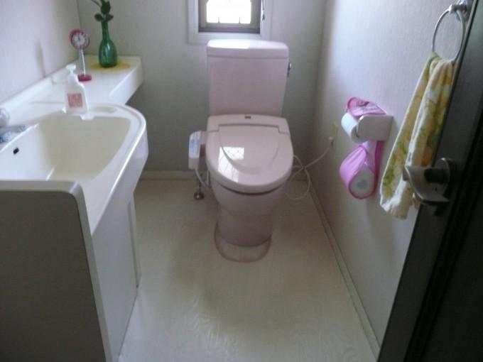 トイレ施工N邸2