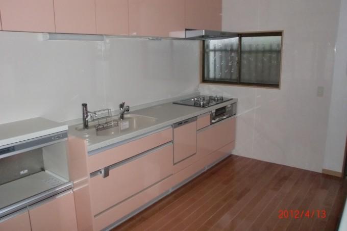 キッチン施工H邸2