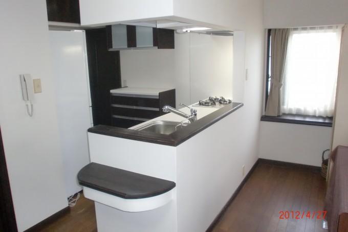 キッチン施工K邸2