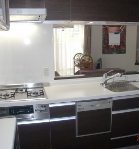 キッチン施工K邸3