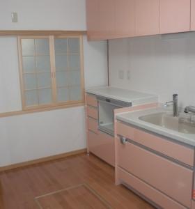 キッチン施工H邸3