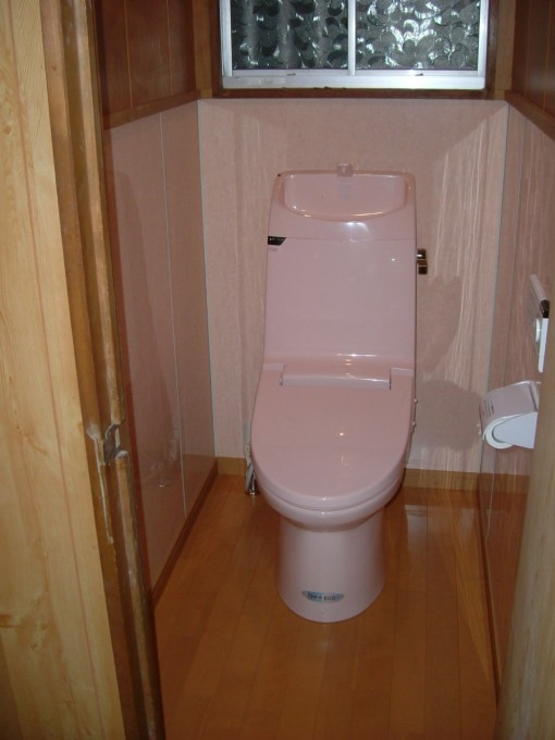 トイレ施工Y邸2