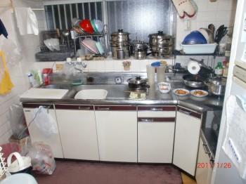 キッチン施工事例T邸