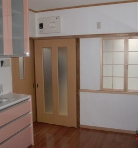 キッチン施工H邸4