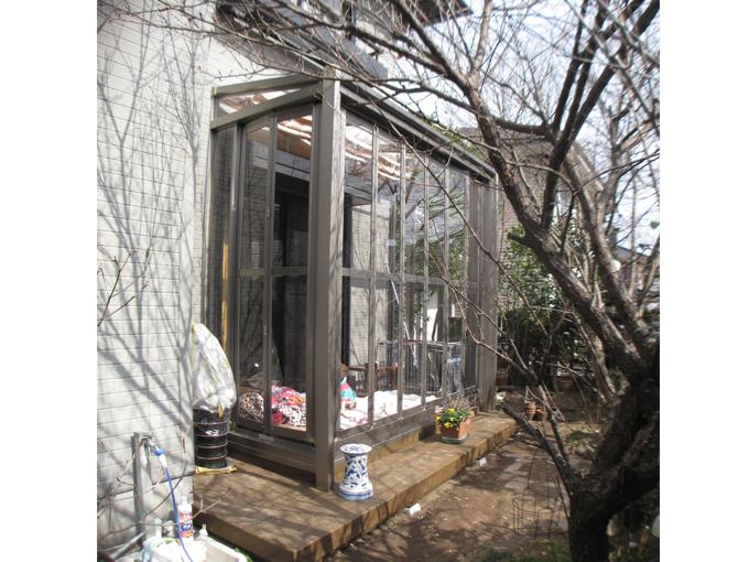 サンルームO邸2