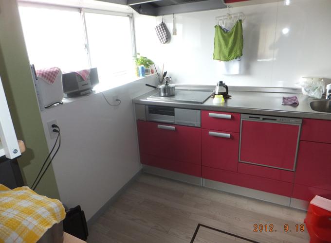キッチン施工S邸2