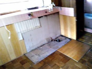 キッチンH邸1