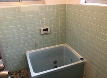 鹿児島市Y様・松本・浴室前